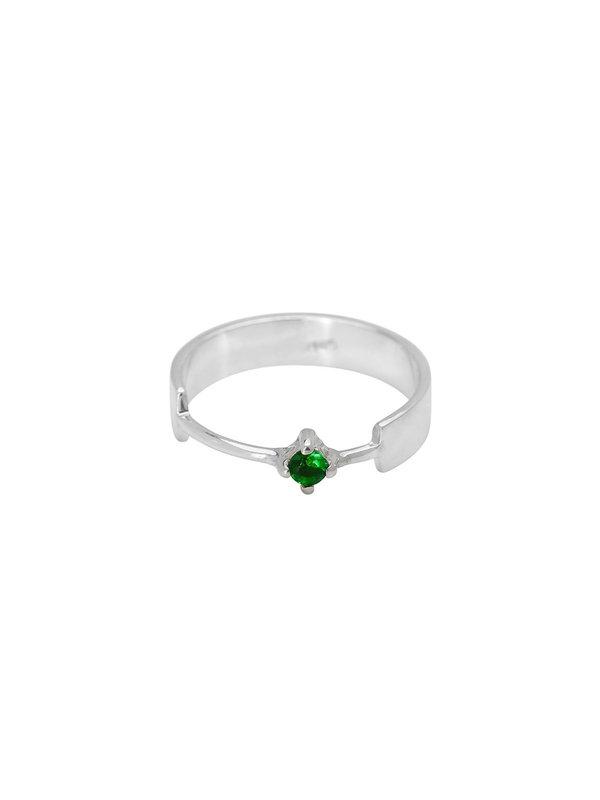 Xzota Ring Turtle Silver