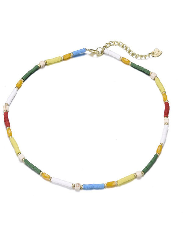 By Sara Collection Emily Necklace Multicolor