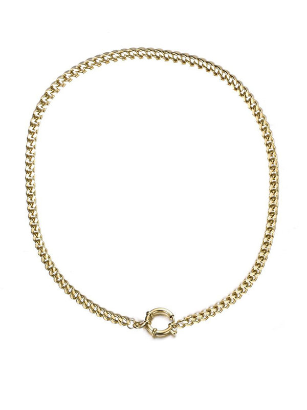By Sara Collection Charlene Necklace Goud