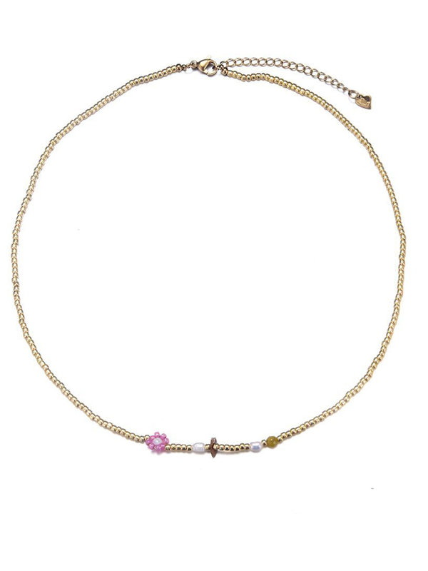By Sara Collection Janine Beads Necklace
