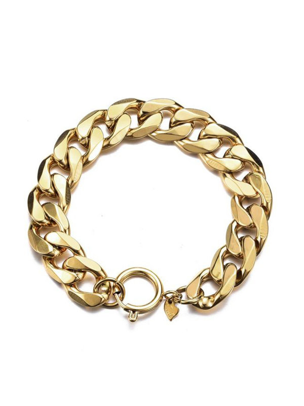 By Sara Collection An Li Armband Goud