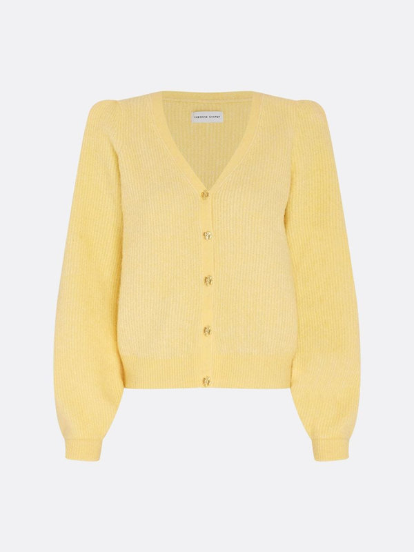 Fabienne Chapot Sally Cardigan Long Sleeve Citron