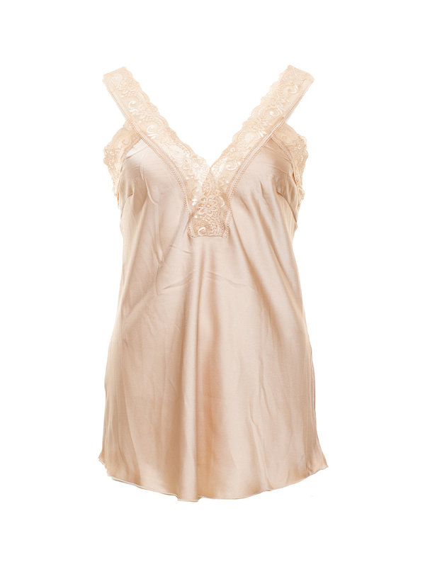 By Sara Collection Stacey Top Beige