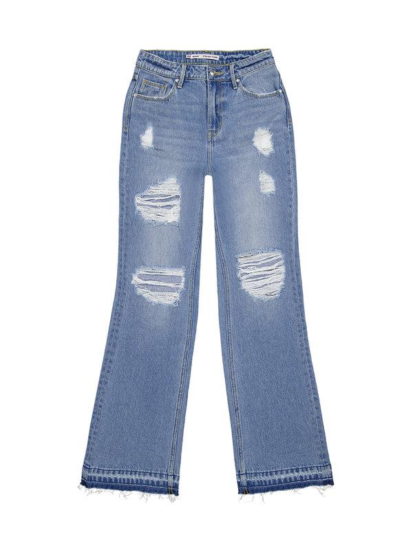 Raizzed Meadow Wide Legs Jeans Vintage Blue