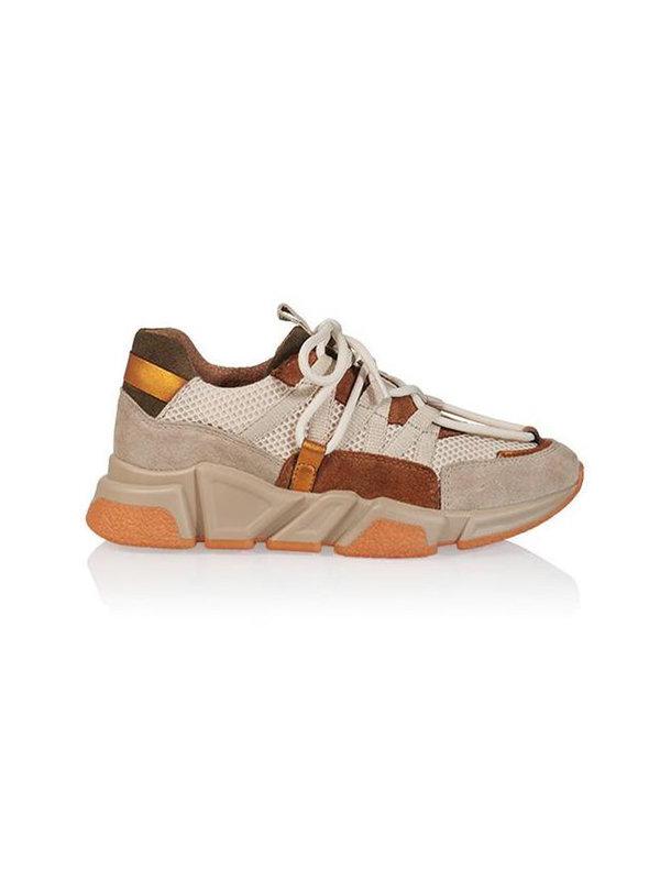 DW\\RS Sneakers Los Angeles Beige Cognac