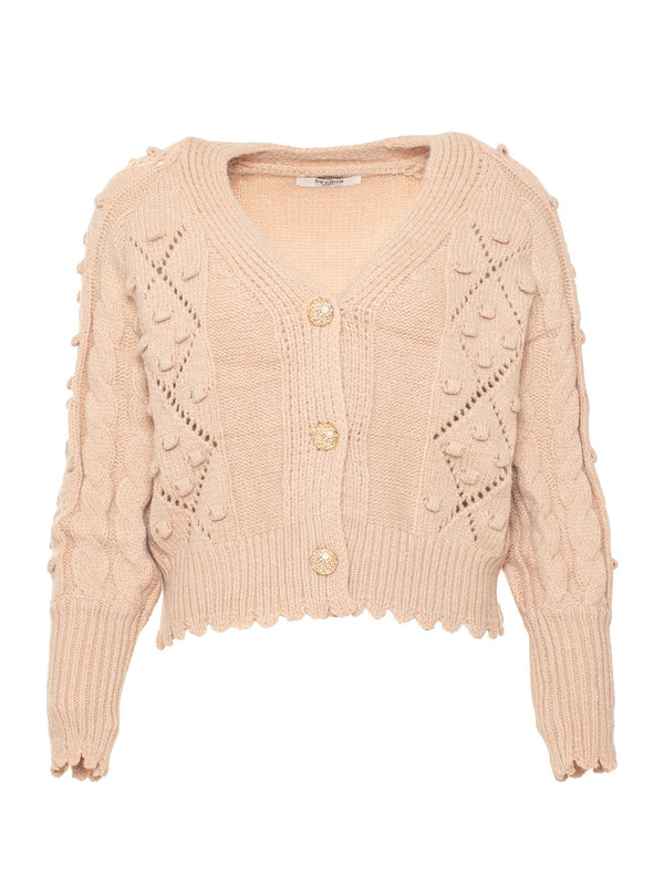 By Sara Collection Avril Knit Beige