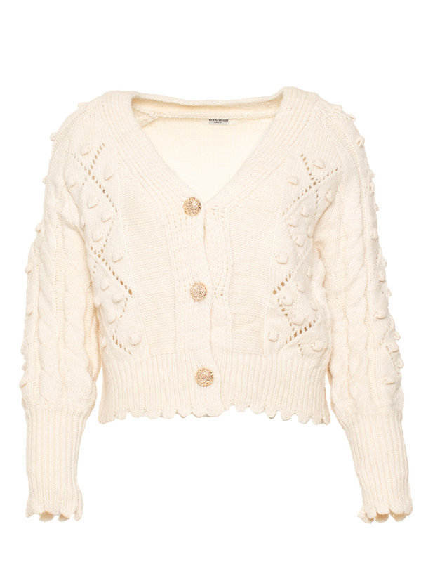 By Sara Collection Avril Knit Off White