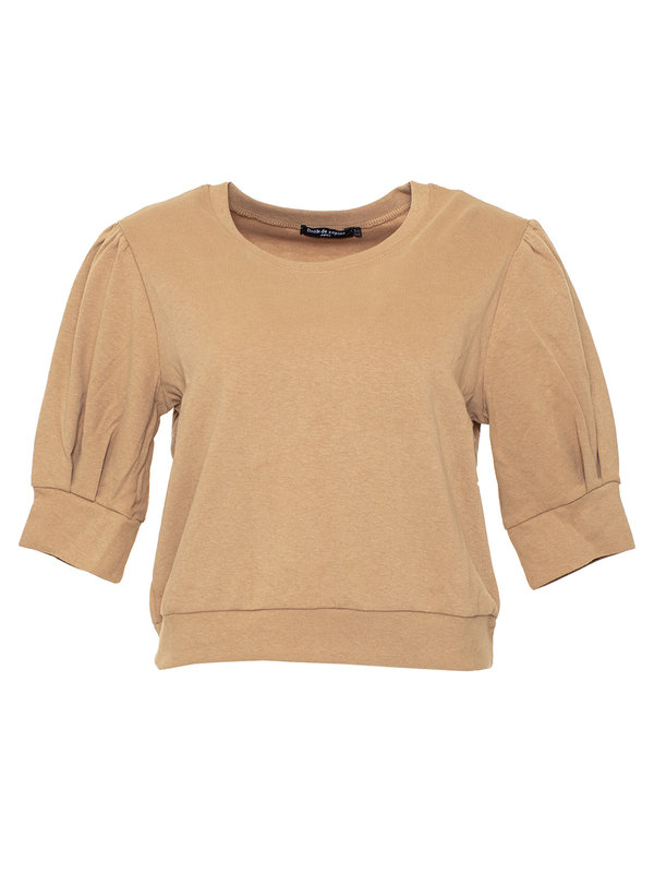 By Sara Collection Ylse Top Soft Brown