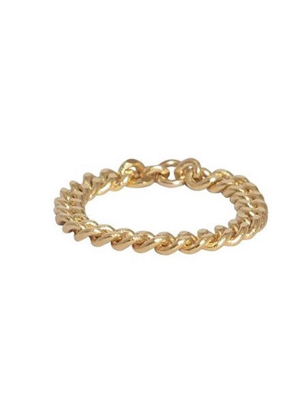 Bobby Rose Chain Ring Gold