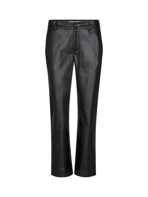 Sofie Schnoor Black Pants Leather