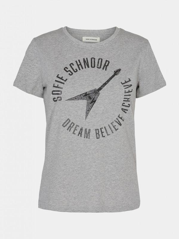 Sofie Schnoor T-Shirt Dream Grey Melange