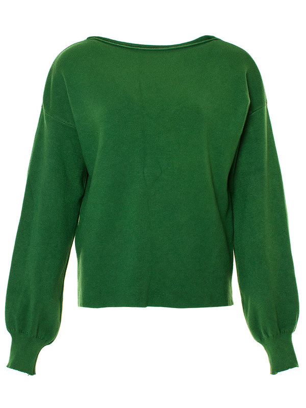 By Sara Collection Vergie Knit Green