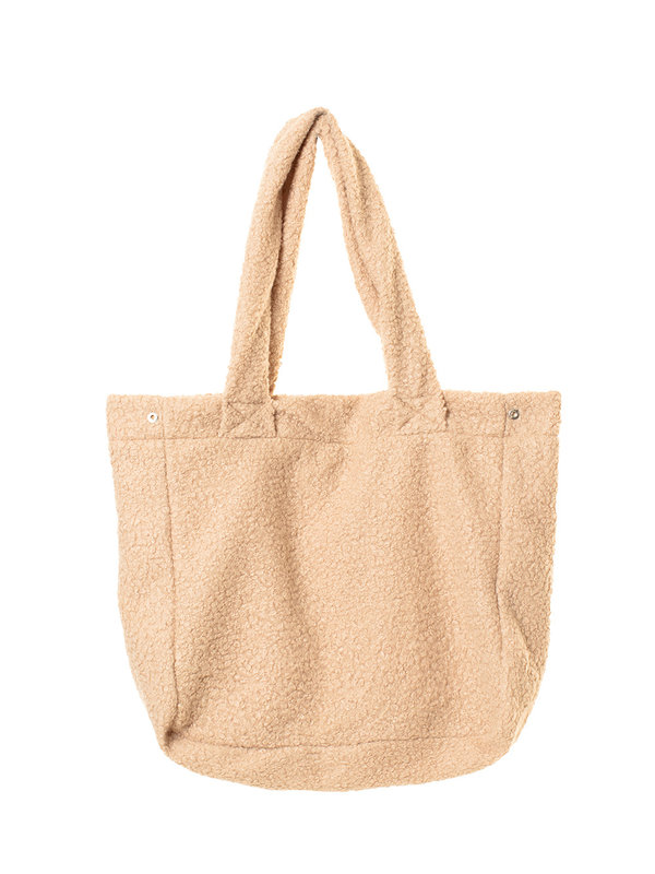 By Sara Collection Teddy Bag Beige