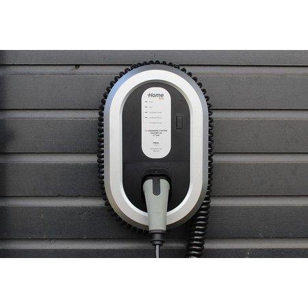 Ratio EV Home Box Laadstation type 2, 16A met 4 meter coiled laadkabel