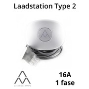 Charge Amps Halo Laadstation type 2, 1 fase 16A - Schuko