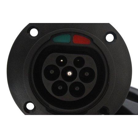 Ratio EV Charging inlet type 2