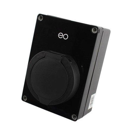 EO Mini Laadstation type 2 Outlet 32A Zwart