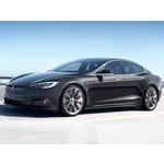 Laadstation voor de Tesla Model S met standaard lader