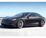 Laadstation Tesla Model S met ge-upgrade lader