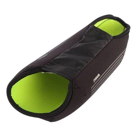 Basil accu/ batterij cover black lime - voor frame accu
