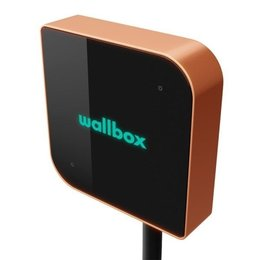 Wallbox Copper 22 kW - EV Laadstation type 2 met vaste rechte laadkabel