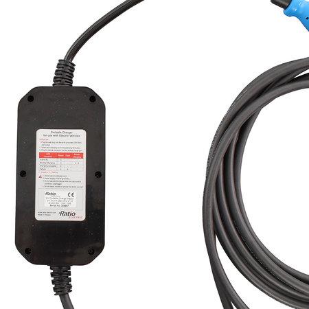Ratio Mobiele lader type 1 naar CEE - 5 meter