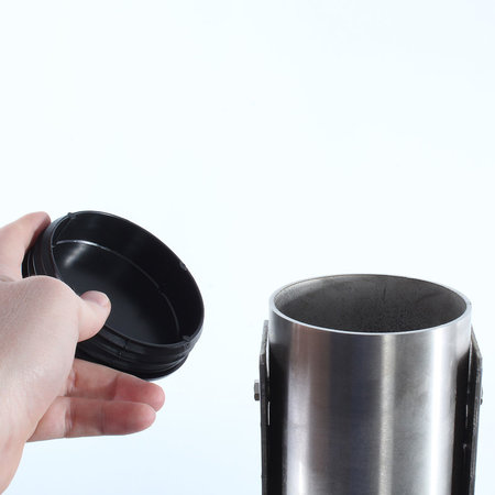 EO Roestvrijstalen paal voor EO Genius en EO Basic - Rond Dubbel
