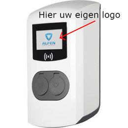 """Alfen Eigen logo in 3,5"""" kleurendisplay"""