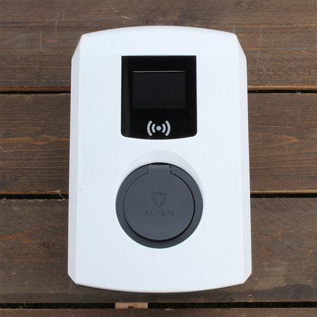 Alfen  Eve Single Pro-line - 3 x 16A (11kW) - Socket - RFID - E-Flux