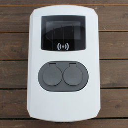 Alfen Eve Double Pro-line - 3 x 32A - 2 Sockets - RFID - E-Flux - 1 Voedingskabel