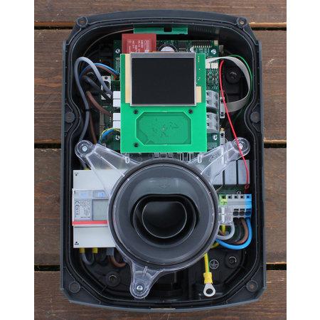Alfen  Eve Single Pro-line - 3 x 32A (22kW) - 8 meter vaste kabel - RFID - E-Flux
