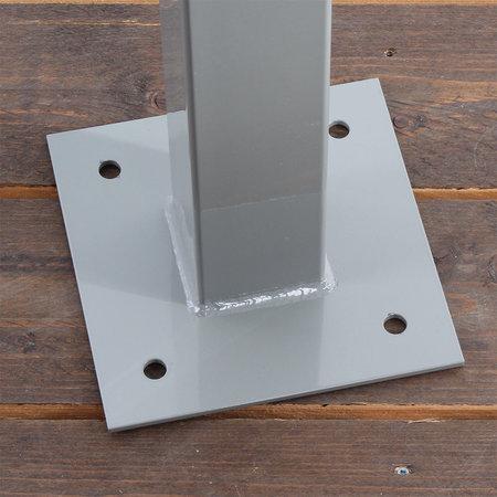 Ratio Laadpaal Square voor Ratio laadstations - dubbel uitgevoerd