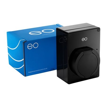 EO Mini Pro 2 Laadstation type 2 Outlet 32A Blauw