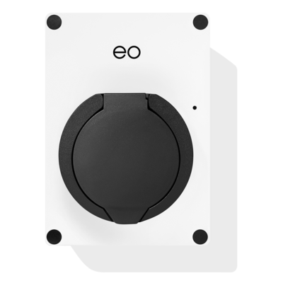 EO Mini Pro 2 Laadstation type 2 Outlet 32A Wit