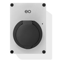 EO Mini Pro 2 Laadstation type 2 Outlet 32A Zilver/ Grijs