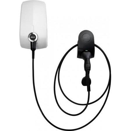 EVBox Elvi 1-fase 32A 7.4kW Type 2 kabel 6m Wi-Fi/kWh/UMTS Wit