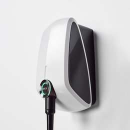 EVBox Elvi 3-fase 32A 22kW Type 2 kabel 6m Wi-Fi/kWh/UMTS Wit