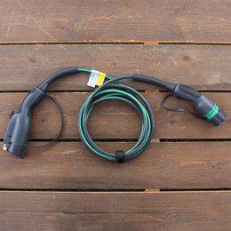 EVBox 1 fase 16A Laadkabel Type 1 - 4 meter