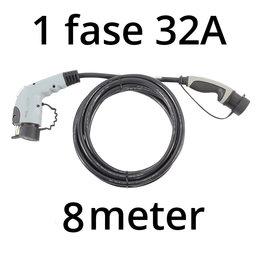 Ratio Laadkabel type 1 - 1 fase 32A - 8 meter