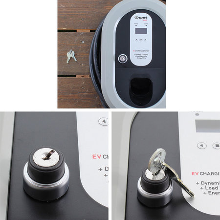 Ratio Home Box Smart Outlet 32A 3 fase + kWh meter + Sleutelvergrendeling