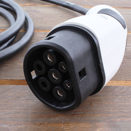 Alfen  Eve Single S-line - 3 x 16A - Grijs - Loadbalancing - 8 meter kabel type 2