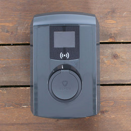 Alfen Eve Single Pro-line - 3 x 32A - Socket - RFID - E-Flux - Grijs