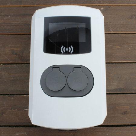 Alfen  Eve Double Pro-line - 3 x 32A (22kW) - 2 Sockets - RFID - E-Flux - 1 Voedingskabel - Load Balancing