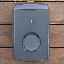 Alfen Eve Single S-line - 3 x 16A - Grijs - Socket - Plug & Charge