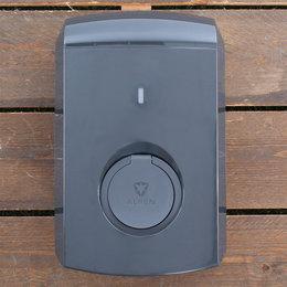Alfen Eve Single S-line - 3 x 16A - Grijs - Socket - Plug & Charge - Loadbalancing