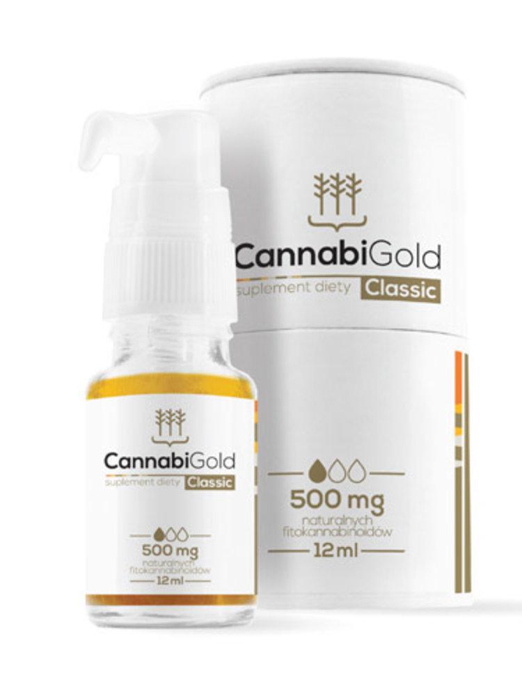 """CannabiGold CannabiGold Bio CBD Öl """"Classic"""" 5 % - 500 mg"""