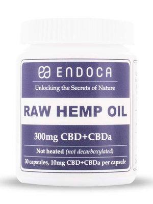 Endoca Bio 3 % CBD & CBDa Kapseln  / Rohes Öl (nicht erhitzt)
