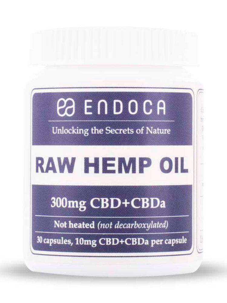 "Endoca Endoca Bio 3 % CBD & CBDa Kapseln ""Raw Hemp Oil"""