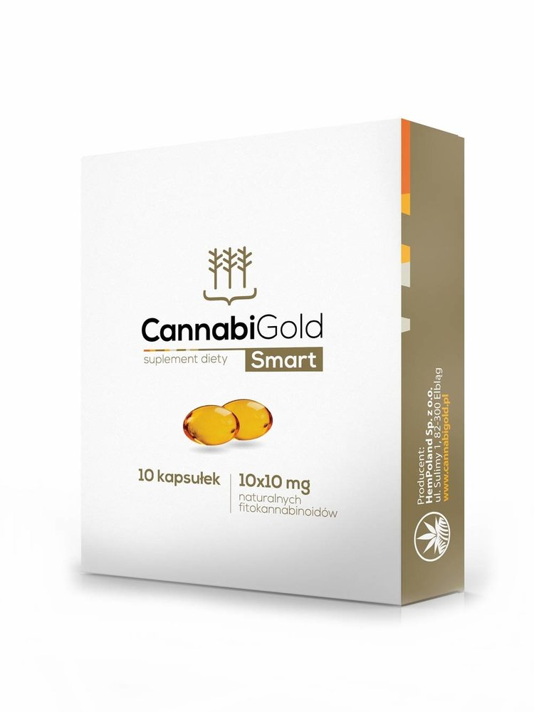CannabiGold CannabiGold Bio CBD Kapseln 10 x 10 mg