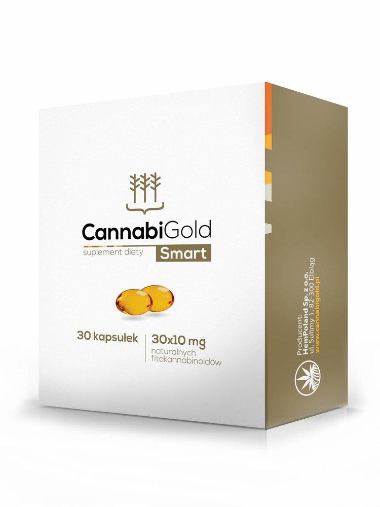 CannabiGold Bio CBD Kapseln 30 x 10 mg